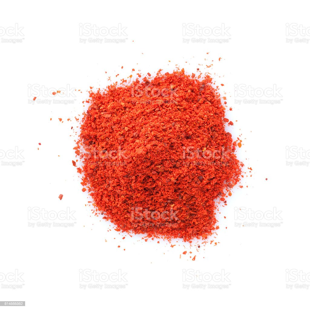 Red paprika stock photo
