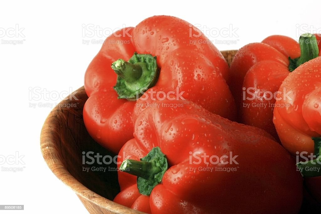 red paprika royalty-free stock photo