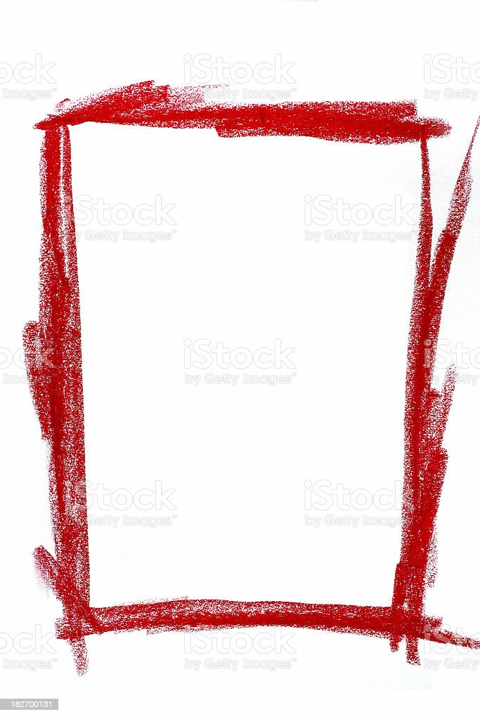 Red Pastel Layer royalty-free stock photo