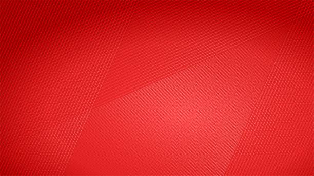 patrón rojo de fondo de aluminio- metal - abstract background fotografías e imágenes de stock