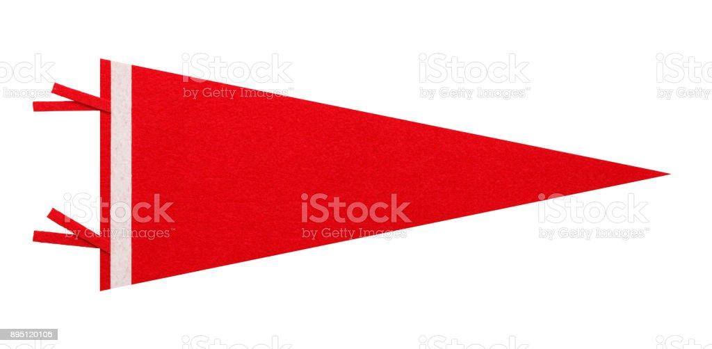 Pendón rojo - foto de stock