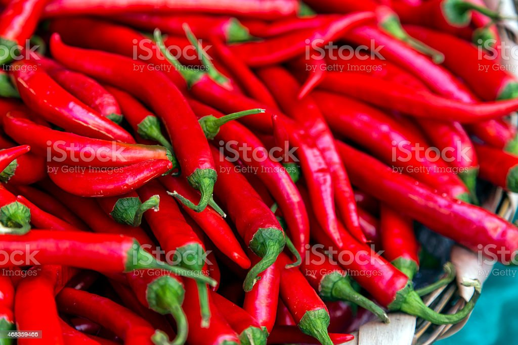 red pepper on the table royalty-free stock photo