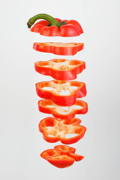 Red Pepper unstructured - foto stock