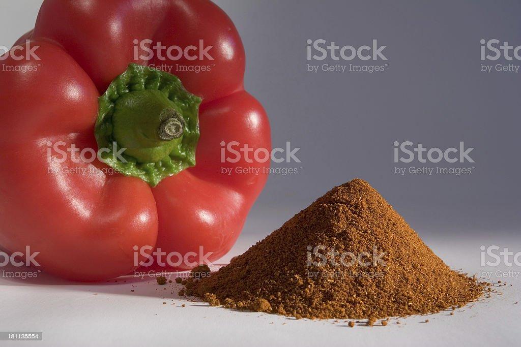 Rote Paprika und Gewürz 2 – Foto