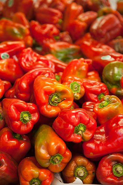 Red Peppers stock photo