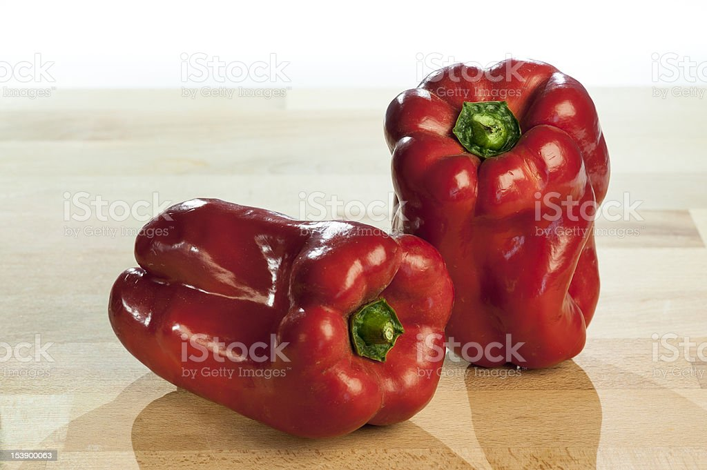 Red Peppers royalty-free stock photo