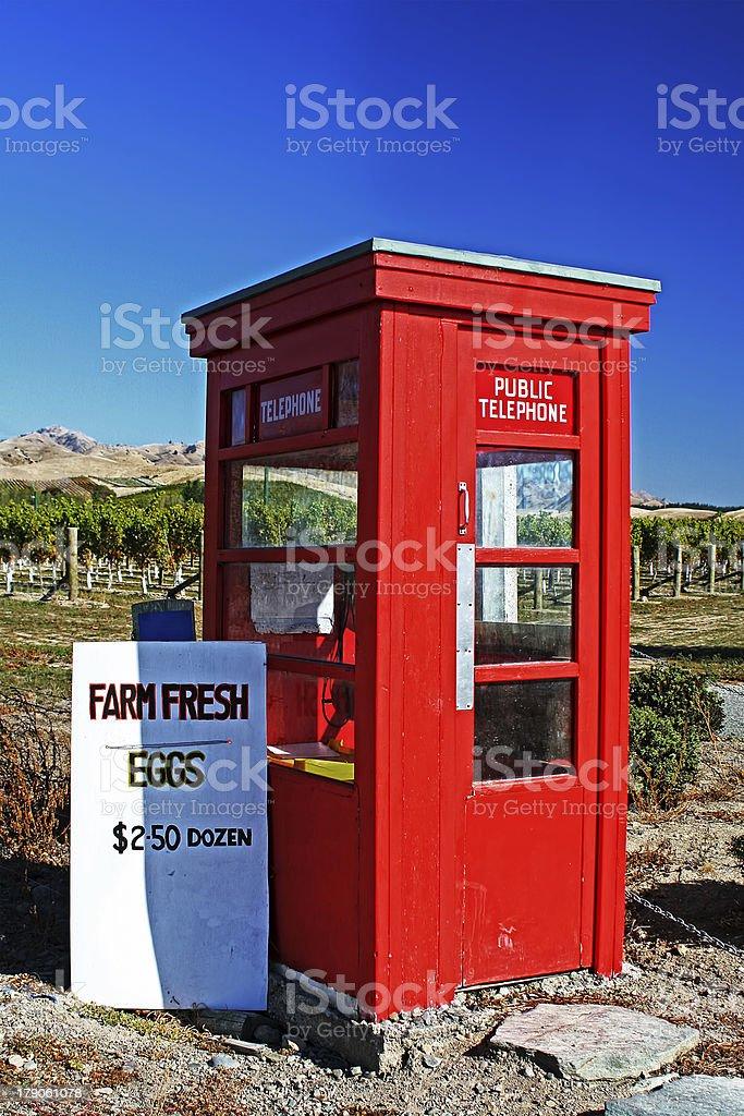 Red Phone Box royalty-free stock photo