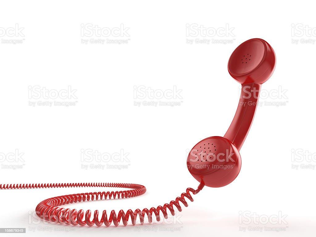 Red Phone stock photo