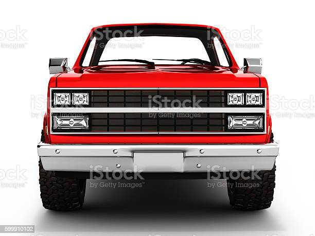 Red pickup truck isolated on white 3d picture id599910102?b=1&k=6&m=599910102&s=612x612&h=idunghvfhqt3r211c 3v4i6xhyvwghweglqpzod6wok=