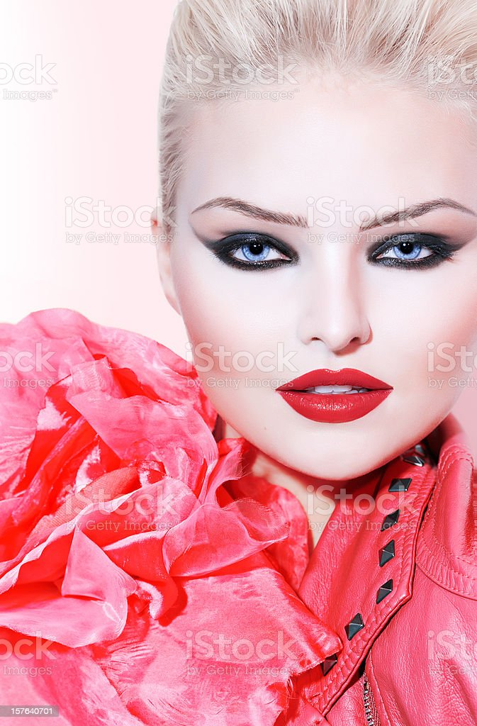 Rouge royalty-free stock photo