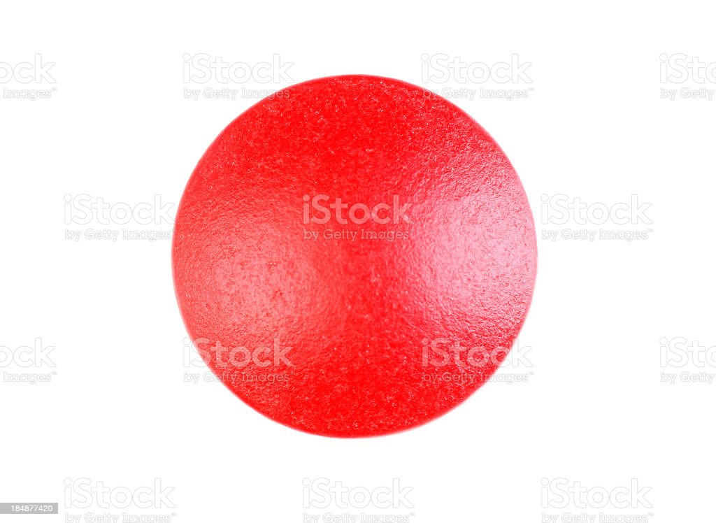 Red Pill Close Up stock photo
