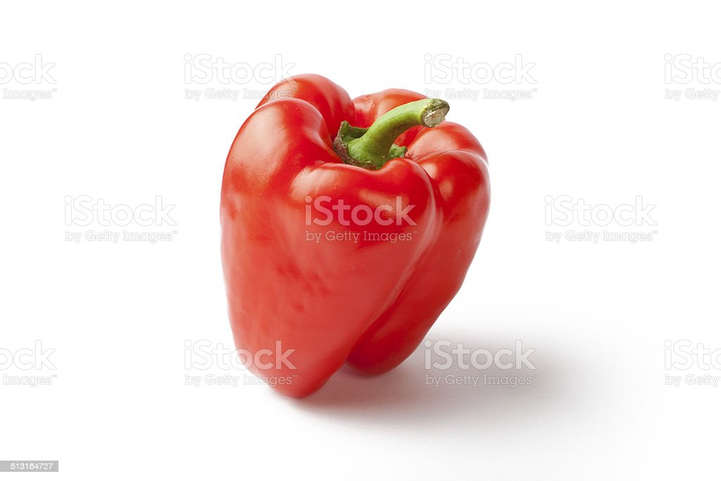 Red Pimento stock photo