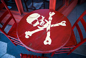 Red Pirate Table