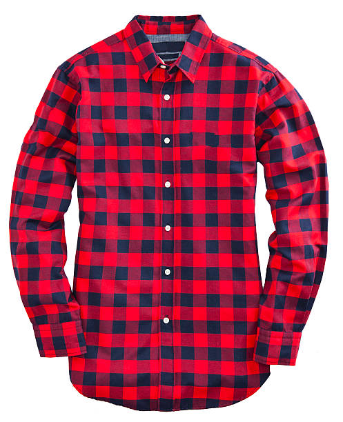 Red  plaid shirt Red  plaid shirt plaid shirt stock pictures, royalty-free photos & images