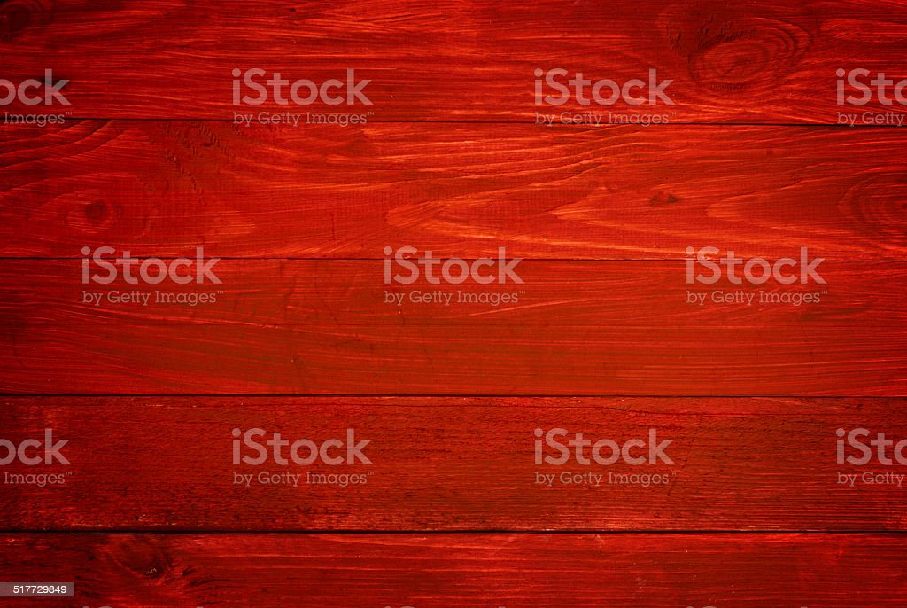 Red planks stock photo