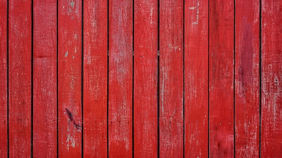 Red planks wall texture background