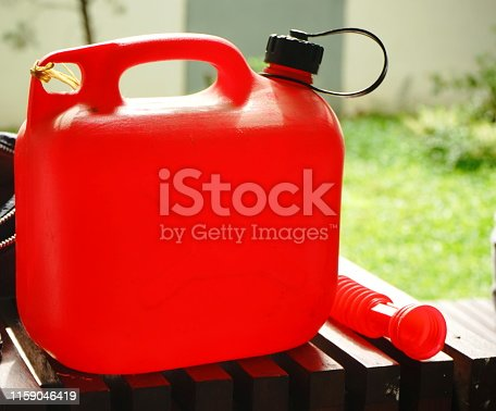 Gas Can, Cut Out, Gasoline, Natural Gas, Fuel Pump