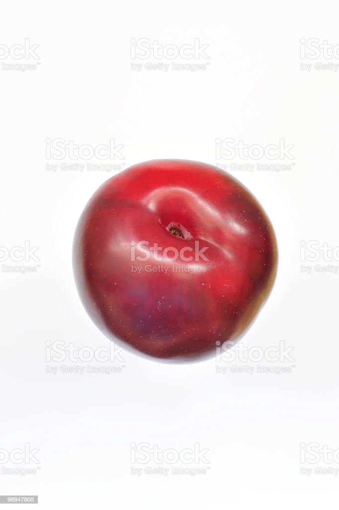 Red plum royalty-free stock photo