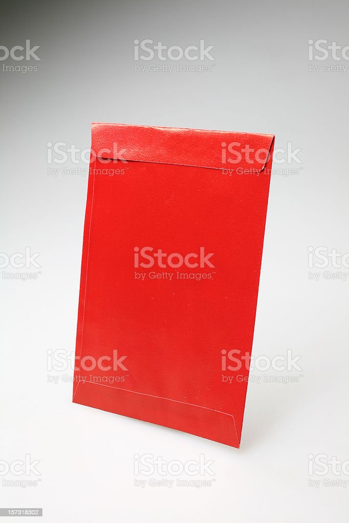Red Pocket of Luck royalty-free stock photo