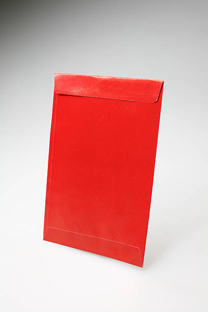 Red Pocket of Luck stock photo