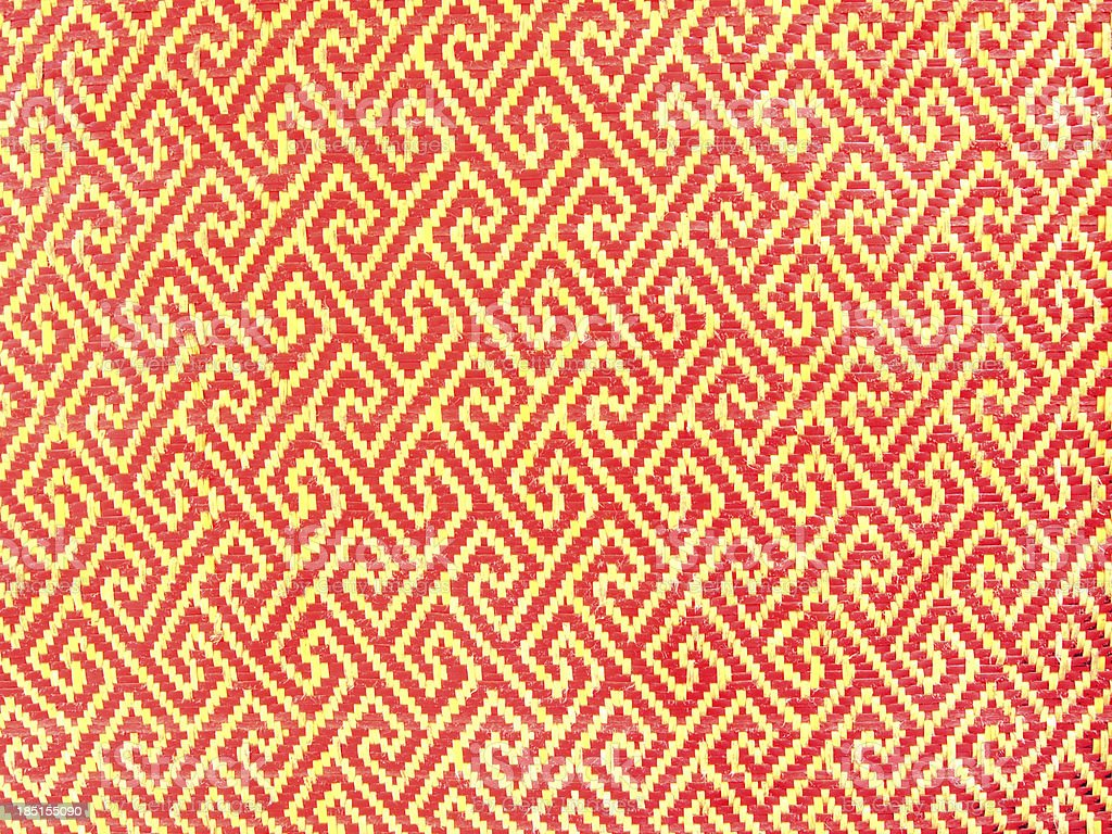 Red polyester fabric texture royalty-free stock photo