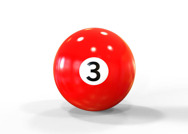 red pool ball - cue ball stock pictures, royalty-free photos & images