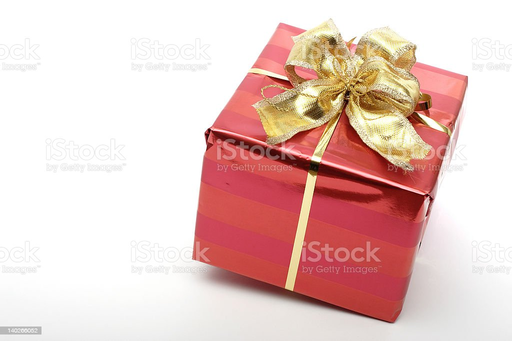 Red Present royalty-free stock photo