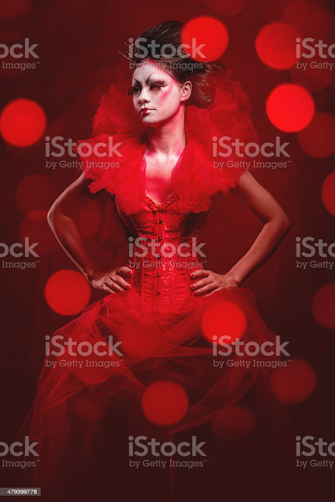 Red Queen stock photo