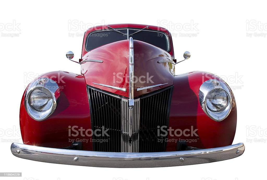 Red Retro Beauty royalty-free stock photo