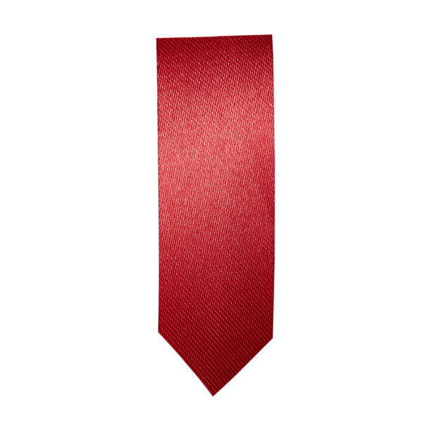 Cтоковое фото Red ribbon bookmark on white background