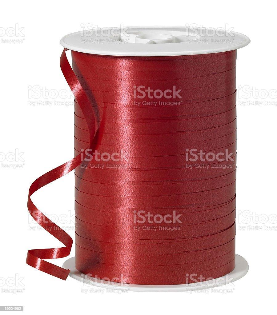 Nastro rosso foto stock royalty-free