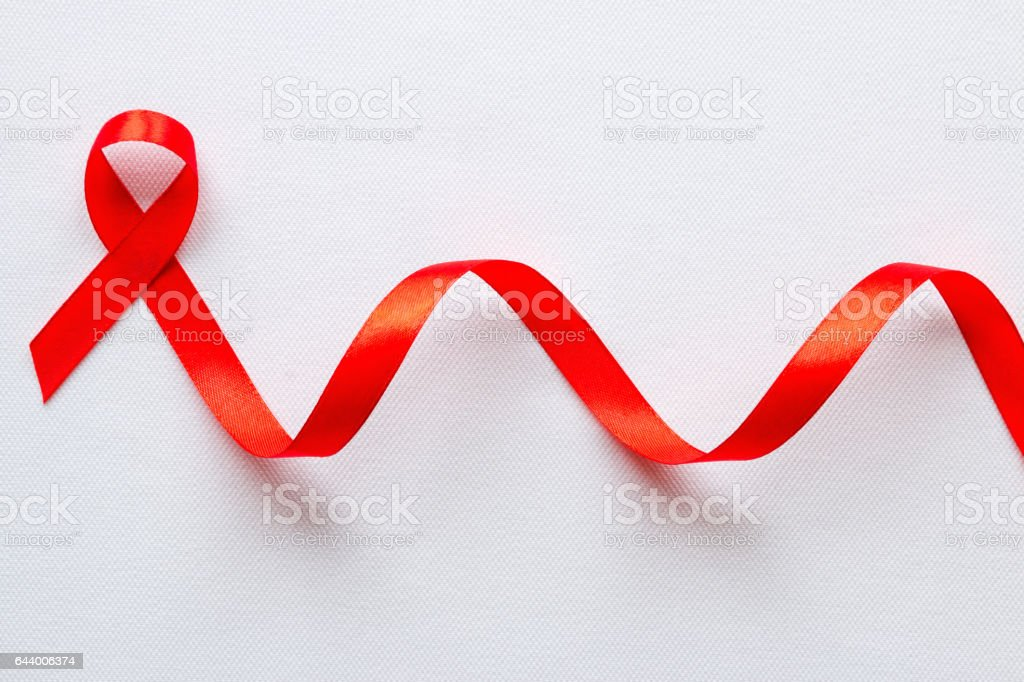 Red Ribbon Symbol Of World Aids Day Stock Photo More Pictures Of