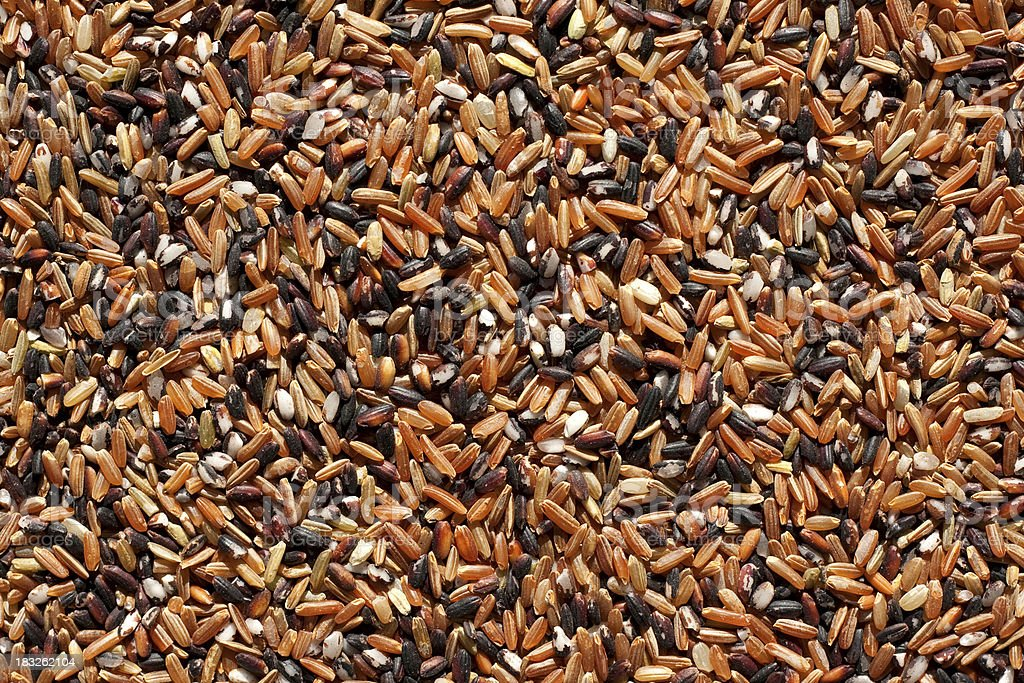 Red rice texture (XXL) stock photo