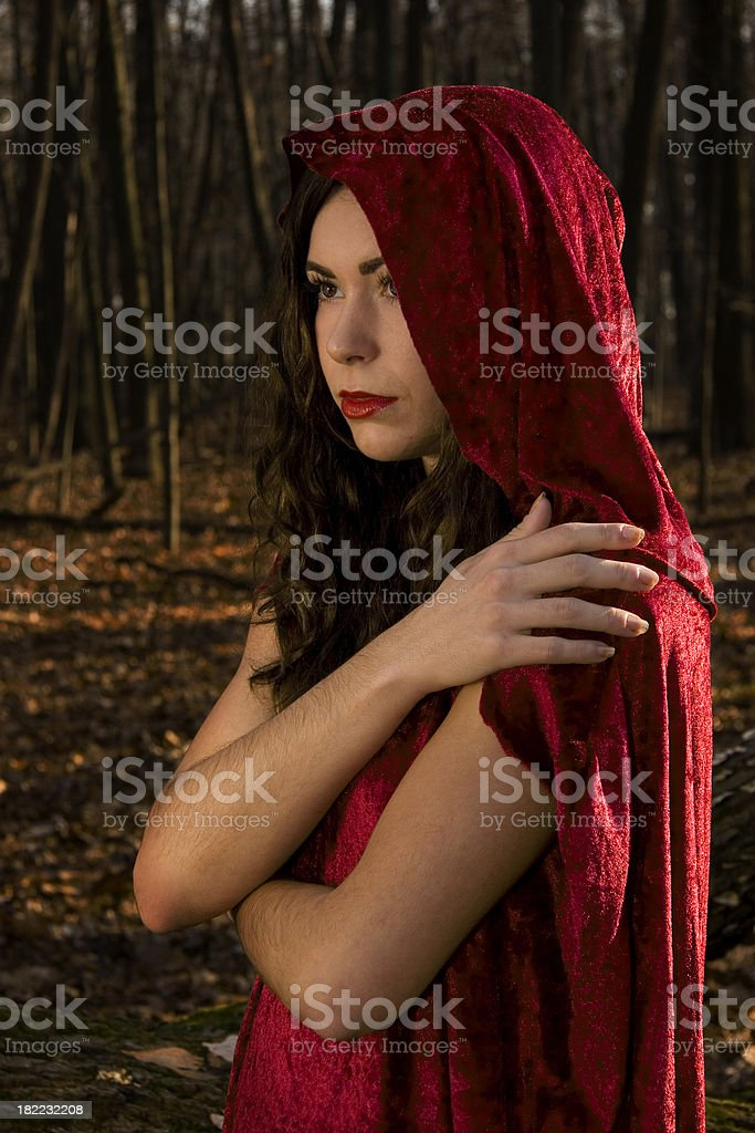 Red Riding Hood comfort stock photo