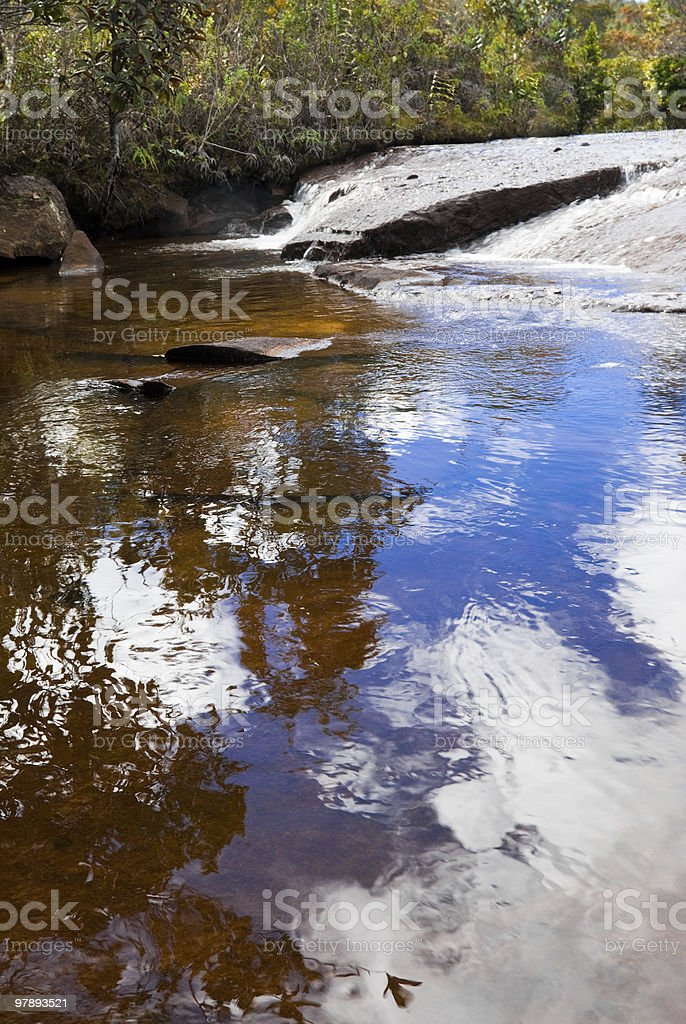 Red River royalty-free stock photo