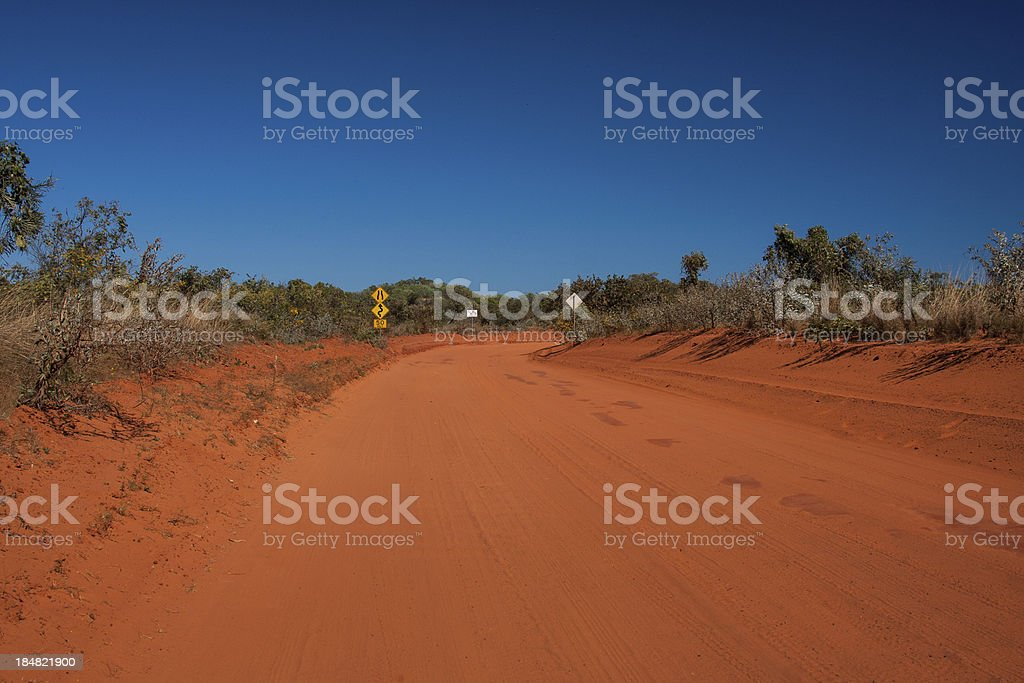 red road stock photo