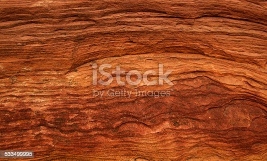 Texture of red sand rock