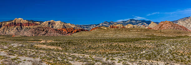 red rock canyon area, las vegas - red rocks stock pictures, royalty-free photos & images