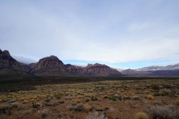 Red Rock Canyon - Erosion on Landform stock photo