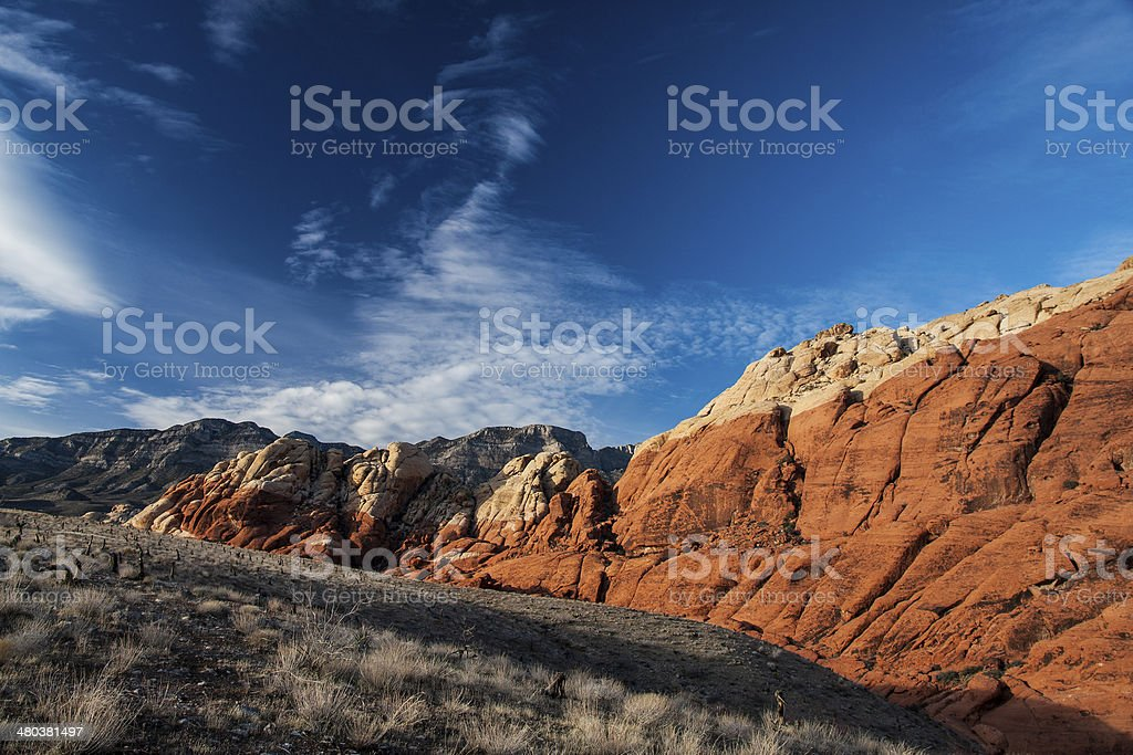 Red Rock Canyon Las Vegas Nevada royalty-free stock photo