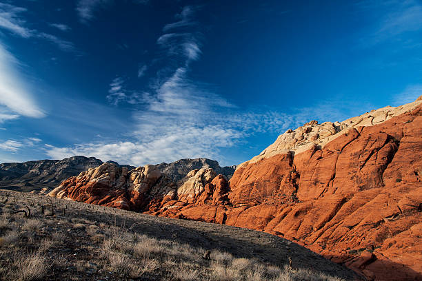 Red Rock Canyon Las Vegas Nevada stock photo