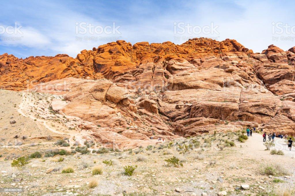 Red Rock Canyon Las Vegas - Royalty-free Blue Stock Photo