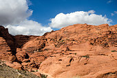 Red Rock Canyon National Conservation Area outside of Las Vegas Nevada