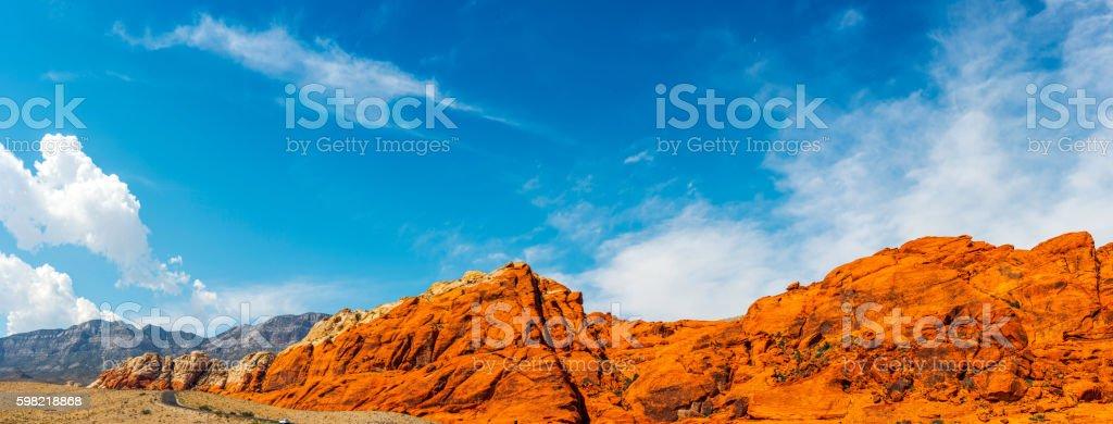 Red Rock Canyon Panorama  foto royalty-free