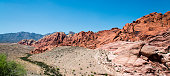 Red Rock Canyon close to Las Vegas in Nevada, USA