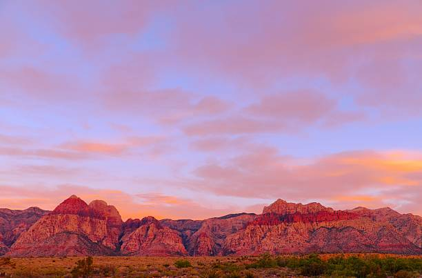 red rock canyon - red rocks stock pictures, royalty-free photos & images