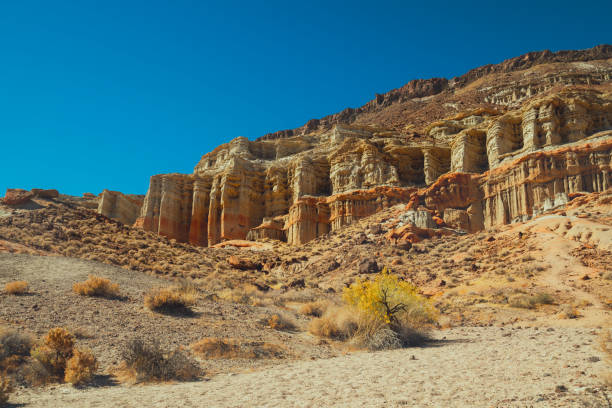 Red Rock Canyon State Park, California stock photo