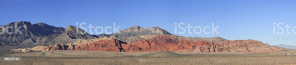 Red Rock Canyon State Park, NV royalty-free stock photo