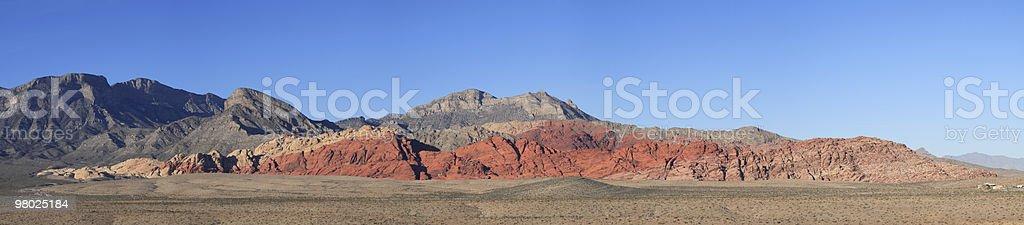 레드 락 협곡 주립 공원, NV royalty-free 스톡 사진