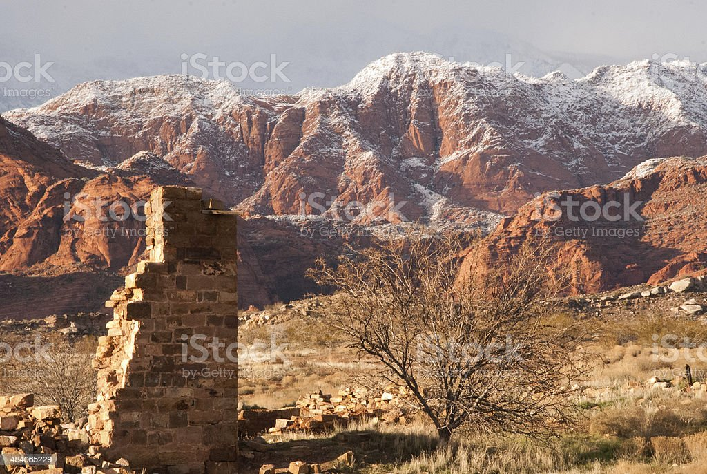 Red Rock Cliffs Conservation Area And Ruins Near Leeds ...